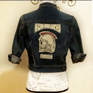 Rugby Ralph Lauren Embroidered Jean Jacket